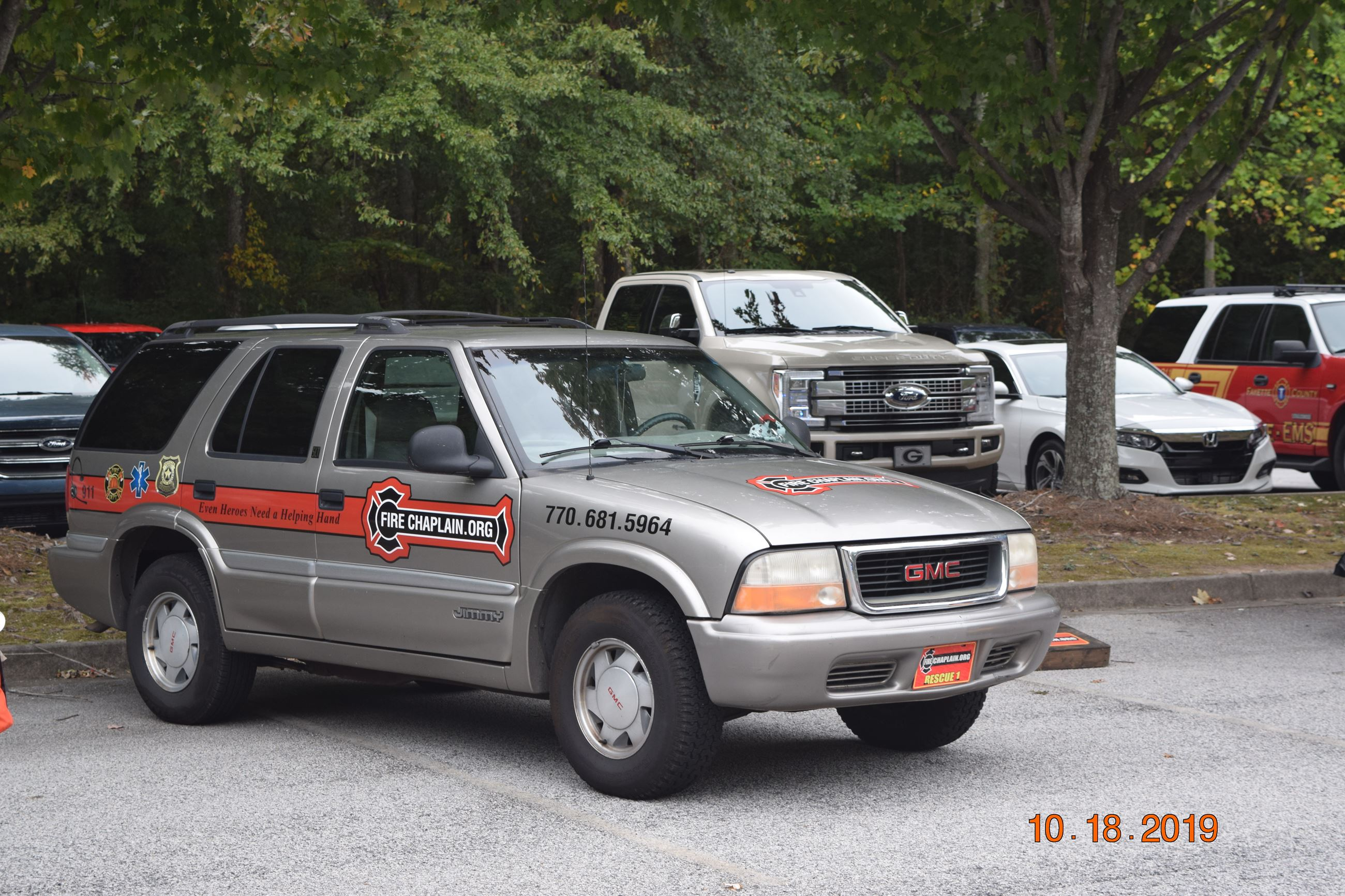 fire chaplain.org car