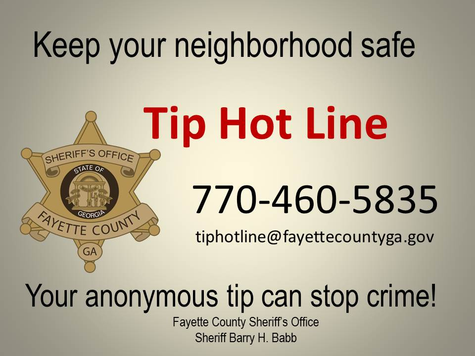 Fayette County Sheriff, GA | Official Website